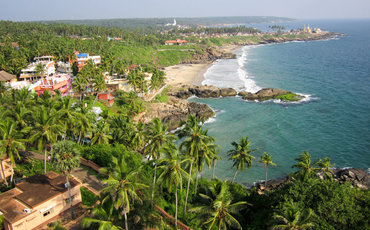 Kovalam Beach Town Tour